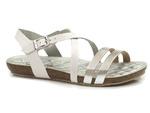 sandały damskie Yokono IBIZA 110 - kolor: biały