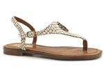 sandały japonki Lemar 40216 - kolor: matrix beż