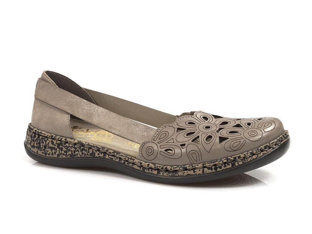 cb074cc860007 letnie półbuty sandały Rieker 46395-64 | Sklep z obuwiem - MACRIS
