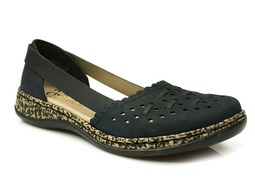 4097d98814813 letnie półbuty sandały Rieker 46397-14 | Sklep z obuwiem - MACRIS